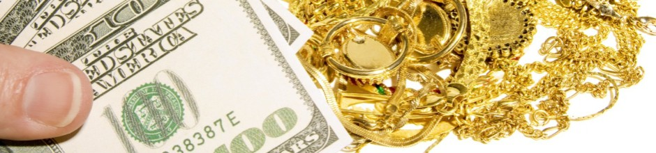 Cash for gold and diamond jewelry